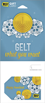 Best Buy GC - $50 Gelt What You Want - Happy Hanukkah Gift Card
