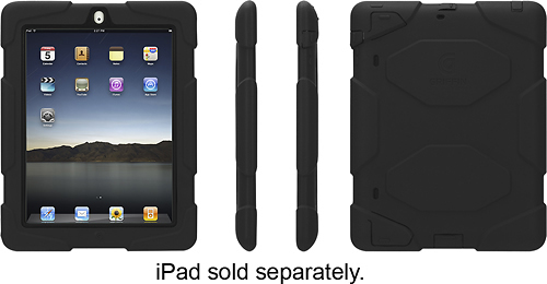 Griffin Technology - Survivor Case for Apple® iPad® 2nd-, 3rd- and 4th-Generation - Black