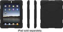 Griffin Technology - Survivor Case for Apple® iPad® 2nd-, 3rd- and 4th-Generation - Black (685387352913)