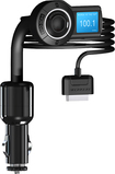 Scosche - Corded FM Transmitter for Apple® iPod® and iPhone® - Black