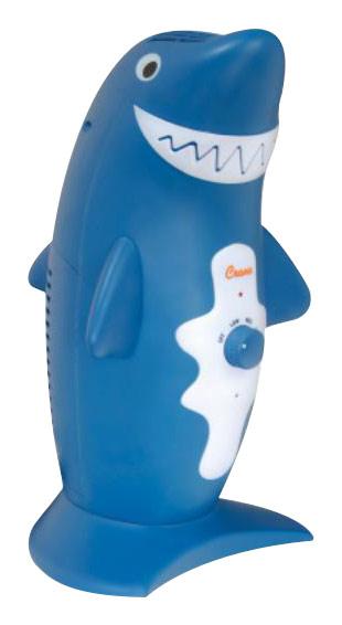 Crane - Adorable Shark Personal Air Purifier - Gray 2521099
