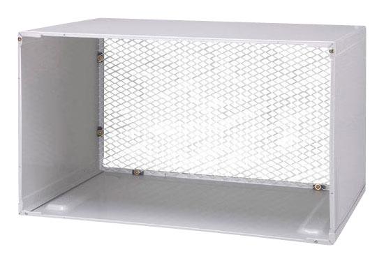 LG - Air Conditioner Wall Sleeve - Aluminum