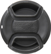 Rocketfish™ - 40.5mm Lens Cap - Matte Black