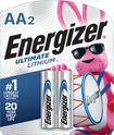 Energizer - Ultimate Lithium AA Batteries (2-Pack)