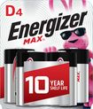 Energizer - D Batteries (4-Pack)