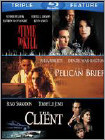 Time to Kill/Pelican Brief/Client [3 Disc] (Blu-ray Disc)