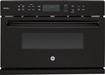 "GE - Profile Series Advantium 120V 1.7 Cu. Ft. Built-In 27"" Microwave Wall Oven - Black-on-Black"