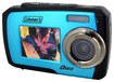 Coleman - Duo 2V7WP 14.0-Megapixel Digital Camera - Blue