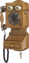 Crosley - Corded Country Kitchen Wall Phone - Oak