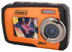 Coleman - Duo 14.0-Megapixel Digital Camera - Orange