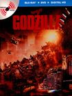 Godzilla [2 Discs] [includes Digital Copy] [ultraviolet] [steelbook] [blu-ray/dvd] 25599385