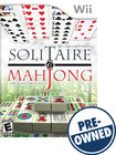 Solitaire & Mahjong — PRE-OWNED - Nintendo Wii