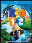 Rio 1 & 2 (Blu-ray Disc)