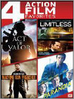 Act of Valor/Limitless/Machine Gun Preacher/Paranoia (DVD)