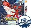 Pokémon Y - PRE-OWNED - Nintendo 3DS