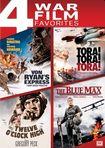 Von Ryan's Express/tora! Tora! Tora!/twelve O'clock High/the Blue Max [4 Discs] (dvd) 25710387