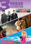 This Means War/water For Elephants/legally Blonde [3 Discs] (dvd) 25710401