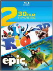 Rio/Epic Double Feature (Blu-ray Disc)