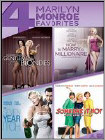 Gentlemen Prefer Blondes/How to Marry a Millionaire/Seven Year Itch/Some Like It Hot (DVD)