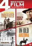 The Undefeated/broken Arrow/the Big Trail/in Old Arizona [4 Discs] (dvd) 25710563