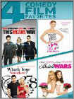 This Means War/27 Dresses/what's Your Number?/bride Wars (dvd) 1367209