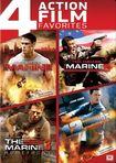 The Marine/the Marine 2/the Marine 3: Homefront/12 Rounds [4 Discs] (dvd) 25710627