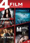 Jennifer's Body/chronicle/joy Ride/martha Marcy May Marlene [4 Discs] (dvd) 25710727
