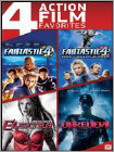 Fantastic Four/Fantastic Four: Rise of the Silver Surfer/Elektra/Daredevil (DVD)
