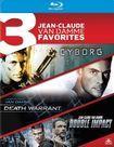 Cyborg/death Warrant/double Impact [3 Discs] [blu-ray] 25715181