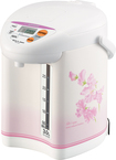 Zojirushi - Micom 3L Water Boiler and Warmer - White/Pink