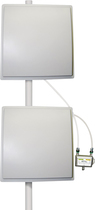 zBoost - Bi-Directional Dual-Band Panel Antenna - White