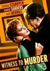 Witness To Murder (dvd) 25846332
