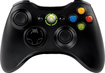 Microsoft - Xbox 360 Wireless Controller - Black