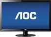 """AOC - 23.6"""" LED HD Monitor - Black"""