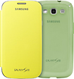 Samsung - Covers for Samsung Galaxy S III Cell Phones (2-Count) - Yellow/Green