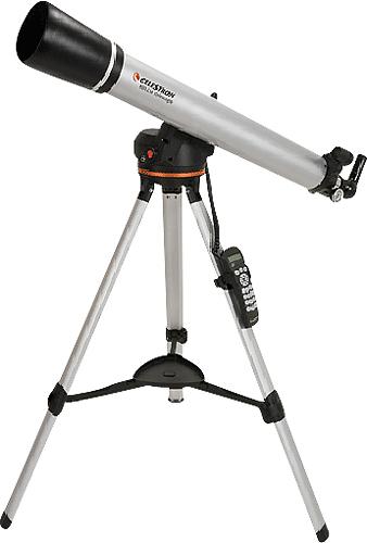 Celestron - 80LCM Computerized Refractor Telescope - Silver