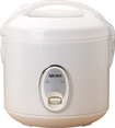 Aroma - 4-Cup Rice Cooker - White