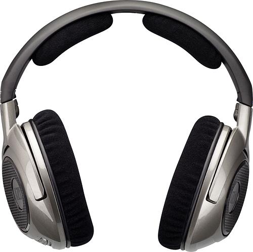 Sennheiser - Sennheiser HDR 180 (Additional KLEER Wireless Headphone - requires the RS 180) - Black