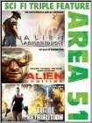 Area 51 - Sci-Fi Action Triple Feature (DVD)