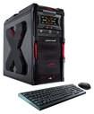 CybertronPC - Striker II Desktop - AMD FX-Series - 16GB Memory - 1TB Hard Drive + 120GB Solid State Drive - Black/Red