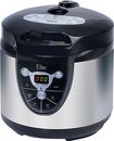 Elite Platinum - 6-Quart Pressure Cooker - Black/Stainless-Steel