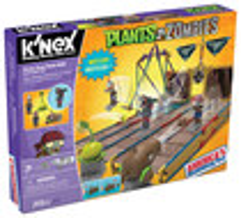 K'NEX - Plants vs. Zombies Pirate Seas Plank Walk Building Set - Multi