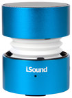 iSound - Fire Glow Portable Speaker - Blue