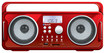 iSound - BT-4000 Wireless Boombox - Red