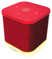 iSound - iGlowSound Cube Portable Wireless Speaker - Red