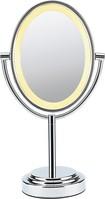 Conair - Double-Sided Illuminated Mirror - Chrome