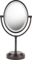 Conair - Double-Sided Illuminated Mirror - Bronze
