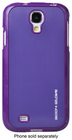 Body Glove - Shock Suit for Samsung Galaxy S 4 Cell Phones - Purple/Fusion Steel