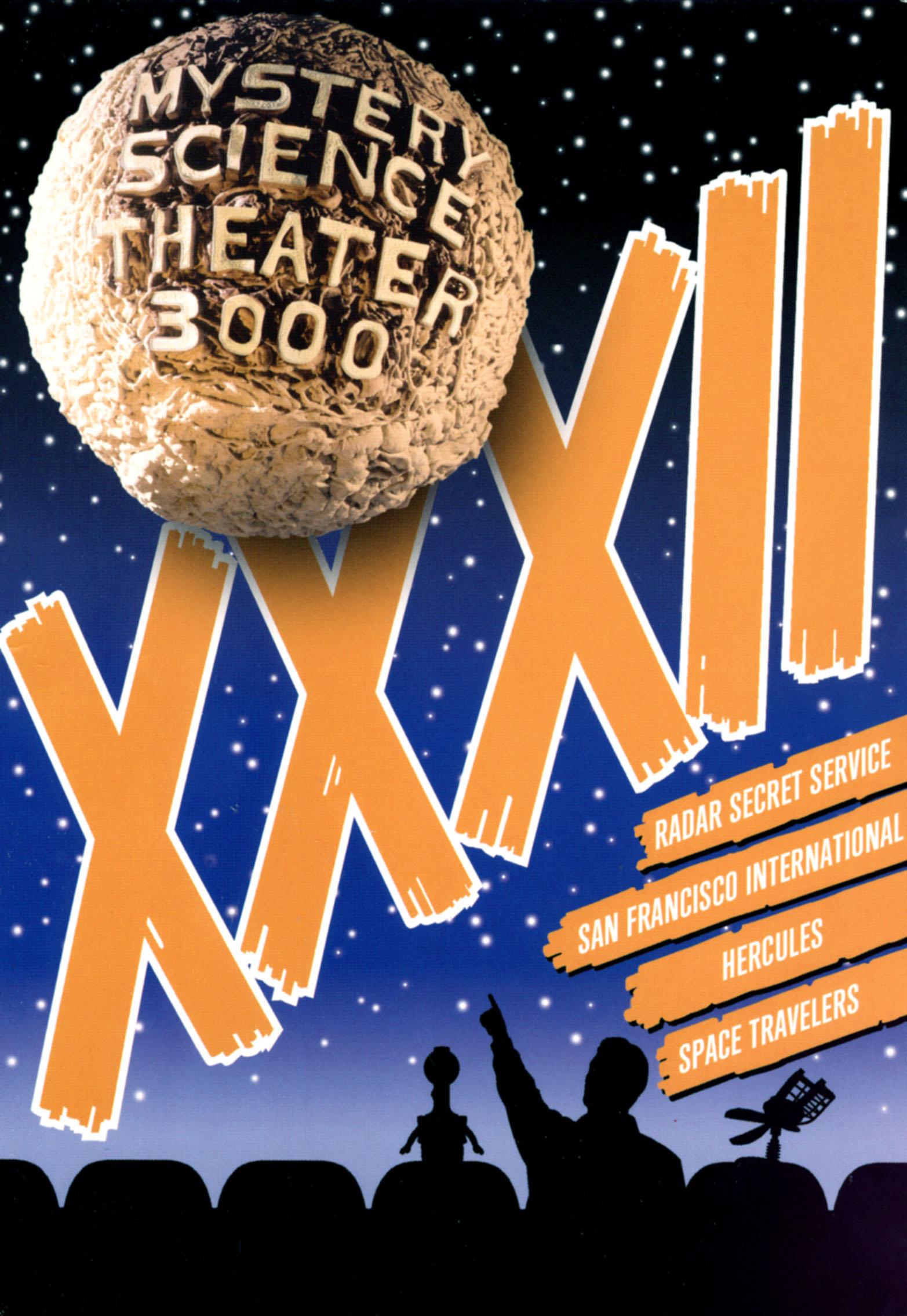 Mystery Science Theater 3000: Xxxii [4 Discs] [blu-ray] (dvd) 26329619