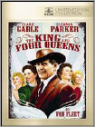 The King and Four Queens (DVD) 1956